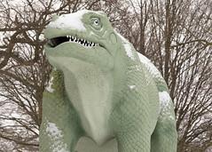 Iguanodon | CP Snow | Feb 2018-36 (Paul Dykes) Tags: crystalpalace london england uk gb unitedkingdom snow uksnow londonsnow