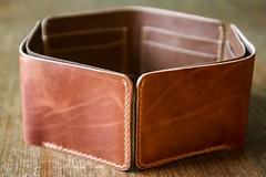 Hexagon (dgarbowitz) Tags: wallet leather hexagon somethingimade 365challenge 365