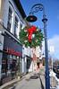 Hardware (cmu chem prof) Tags: mountpleasant isabellacounty michigan mainstreet christmasdecorations wreath lamppost hardwarestore