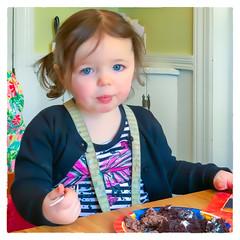 Birthday Girl (Timothy Valentine) Tags: birthdaycake large family 0318 2018 braintree massachusetts unitedstates us portrait