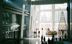 Xmas at the Taipei 101 (Mushi Kid) Tags: winter sunlight shadows windows architecture taipei taiwan taipei101 interior xmas nikon d750 asia