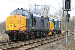 37407 - 37422 @ Alsager (uksean13) Tags: 37407 37422 alsager cheshire canon 760d ef70200mmf4lusm diesel