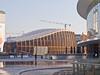 Of Wood, Steel n' Glass # 1 (schreibtnix on 'n off) Tags: reisen travelling italien italy mailand milan architektur architecture himmel sky blau blue vertikal vertical futuristisch futuristic ofwoodsteelnglass olympuse5 schreibtnix