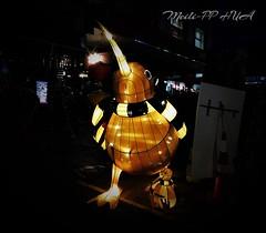 388. CNY 2018: Mother & Child Lanterns (Meili-PP Hua 2) Tags: chinesenewyear chinesenewyeardog2018 festival lanterns night nightphotography light lanternfestival animallanterns glow