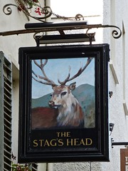 Bowness-on-Windermere, Cumbria (cherington) Tags: stagshead bownessonwindermere cumbria england unitedkingdom pictorialsigns pubsigns traditionalpubsigns englishpubsigns socialhistory innsigns