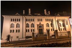 Culture House, Reykjavik (Bora Alioglu) Tags: art house museum reykjavik iceland night nikon d750 tamron shadow light