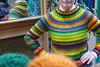 Life is...color in wool ! (sifis) Tags: knit wool merino sweater art athens sakalak greece σακαλακ μαλλια πλέκω πλεξιμο αθηνα