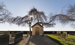Cemetery HDR (PvRFotografie) Tags: nederland holland hoeksewaard cemetery begraafplaats shed schuur hdr sonyilca99m2 1224mm sigma1224mm sigma12244556 sigma1224mmf4556dgiihsm