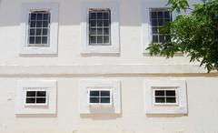 Windows (Clare-White) Tags: smileonsaturday house onpurewhite building new norcia newnorcia australia 6 tree green glass