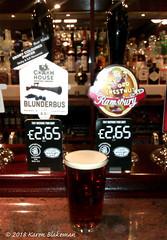 February 24th, 2018 Today's Tipple - Blunderbus (karenblakeman) Tags: baroncadogan pub caversham uk beer ale porter blunderbus coachhouse february 2018 2018pad reading berkshire