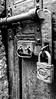Old Ways (miniM aka ValerioZanazzo) Tags: black blackwhite old ways locked door porta bianco e nero bianconero huawei smartphone artistic frame wallpaper lucchetto padlock handle snap