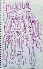 Quickie (Wayne Wolfson) Tags: waynewolfson quicksketch alienist herbertwest doodle pen