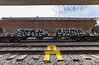 (o texano) Tags: houston texs graffiti trains freights bench benching agent charm sws