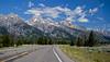 """(2/99) 43°44'07.4""""N 110°43'34.0""""W (ponzoñosa) Tags: usa grand teton mountain nationalpark np forgotten places road estrada carretera pine pino us"""