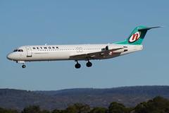 VH-NHI  Network Aviation Fokker 100 (johnedmond) Tags: perth ypph westernaustralia australia network qantas fokker f100 fkk aviation aircraft aeroplane airplane airliner sel55210 55210mm ilce3500 sony