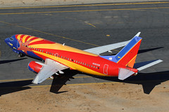 N383SW Southwest 737-300 (ColinParker777) Tags: n383sw 737300 737 733 arizona one scheme special southwest airlines airways airliner storaged storage retired retirement taxiway airport victorville vcv kvcv socal southern california logistics pig air aircraft aviation aeroplane airplane boeing canon 7d 7dii 7d2 7dmkii 7dmk2 100400 lens zoom telephoto