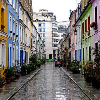 Paris, Rue Crémieux
