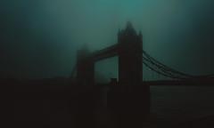 L O S T (Panda1339) Tags: wideangle blue summiluxq london leicaq architecture mist towerbridge sky fog bridge morning uk 28mm moody