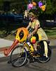 2017 Lake Harriet Art Car Parade - bee bike (schwerdf) Tags: artcarparade bicycles costumes lakeharriet minneapolis minnesota