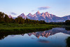 Tetons at dawn 2 (3x2) (out stealing pictures) Tags: tetons grandteton grandtetonnationalpark mountains sky water canon canon6d landscape nature beautifulplanet justgoshoot