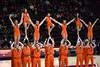 HOKIE SPIRIT (SneakinDeacon) Tags: hokies vt duke bluedevils vatech cassellcoliseum basketball acc ladiehokies lady blue devils cheerleaders