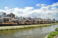 Kamo River at Kyoto, Japan (víctor patiño george) Tags: kyoto kioto japan japon nippon kamo river photo foto color vpg victorpatiñogeorge d3200 nikond3200 nikon tamron tamron18200 18200 asia río fleuve city ciudad rivera gionshijo vpatiñog vpatiño