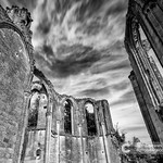 Old church and abbey ruins in the Loire Valley, France, thumbnail