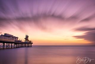 Paignton Pier at sunrise