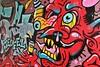 DER TEUFEL (just.Luc) Tags: teufel duivel diable devil red rood rouge rot graffiti urbanart streetart allemagne deutschland duitsland germany amburgo hamburg hambourg mur mauer wall muur europa europe