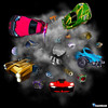 Colors explosion (M4x G4x) Tags: game jeuvideo videogame rocketleague cars explosion colors voiture