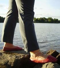 Gigi (4000) (Duke of Slippers) Tags: ballet slippers shoes flats pumps soft soles souliers pantoufles panofole scarpe ballerines ballerinas