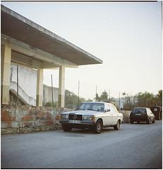 .I've gone and lost a day... (Herr Benini) Tags: mercedes benz kiev88 analog 120 6x6 portugal lagos algarve golf volkswagen vwgolf