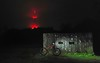 The Aliens are Landing (tj.moore) Tags: mtb mountain bike night ride swinley transmitter misty rain dark nokia8 birdmtb birdcycleworks zero old dean carcrashmoor pillbox