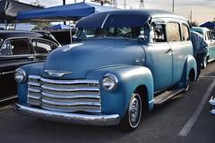 Mooneyes X-Mas Party 2017 (USautos98) Tags: chevrolet chevy suburban hotrod streetrod custom rockabilly