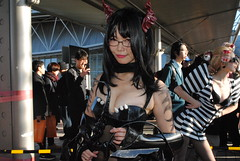 Comiket, Winter 2017 (ジェローム) Tags: comiket comicmarket tokyo odaiba japan japanese girl woman asia asian cosplay cosplayer costume