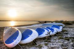 Summervibes #001 (Niels Hildebrandt) Tags: beach summer boat water sun strand ostsee baltic sea kiel laboe surfing surfer hobby