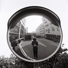 Reflection / Rolleiflex (KANAPHOTO :D) Tags: rolleflex blackwhite monochrome shadow iiford quiet while white mirror reflection road building sky beijing china