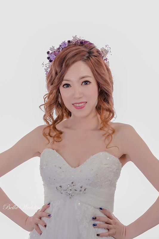 嘉義新秘, 新娘秘書, 浪漫乾燥花, 甜美風格新娘, HD清透噴槍,大眼娃新娘