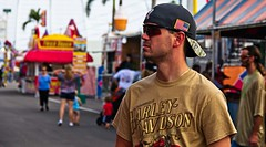 Fair Patrons (LarryJay99 ) Tags: westpalmbeach florida southfloridafair canon60d people men male man guy guys dude dudes animals jeans nape caps profile facialhair facres handsome cuteguy bokeh