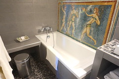 Salle de bain au Château d'Arparillargues