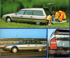 1988 Citroen CX 25 GTi Turbo Saloon & Break (aldenjewell) Tags: 1988 citroen cx 25 gti turbo saloon break sedan station wagon estate brochure