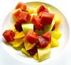 Fruits of Summer_1222 (Rikx) Tags: fruitsofsummer fruit summer mango watermelon rockmelon honeydewmelon pineapple strawberries fruitsalad feast food fresh raw adelaide southaustralia grapes explore