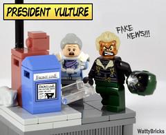 President Vulture (WattyBricks) Tags: lego marvel superheroes spiderman vulture aunt may