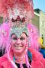 Dutch Carnival 2018 (RuudMorijn-NL) Tags: 2018 breda centrum grotemarkt noordbrabant bont bontjas carnaval closeup dichtbij feest feesthoed gegrimeerd geschminkt gezicht glimlachend glitters haar hoed hoge hoog kleurig kleurrijk kunstbont lachend lachende lila lol oogcontact openlucht plezier portret pose pret pruik rode rood roze schmink straat straatportret traditie uitgedost verklede verkleed vlechten vlechtjes vrolijk vrouw zilverkleurig young woman pink hat tall colorful portrait street carnival dutch netherlands pretty vertical