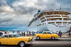 The Yellow timing (Rey Cuba) Tags: cuba crucero