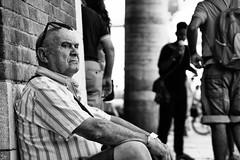 resting (Claudia Merighi) Tags: blackandwhitephotos blackandwhiteonly blancoynegro blackwhitephotos blackandwhitephotography whiteblack ricohimages bnbwbwbiancoenero italy fotografiadistrada fotografiacallejera fotodistrada fotografiederue fotografiaderua monochrome monochromatic portrait portraitfromthestreet portraiture portraitinbw claudiamerighi pretoebranco people person white bw