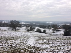 Snowy Kent (My photos live here) Tags: goudhurst kent england iphone 5s village weald country countryside rural snow snowfall freeze cold cool moring snowcovered hall pond bench frozen beast maypole lane from the east storm emma