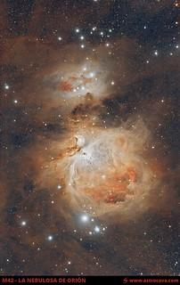 La Nebulosa de Orión - M42