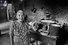 Doña Mari, a tamales maker poses in front of the camera (House_of_M) Tags: mexico oaxaca tamales travel cruise portrait bwportrait
