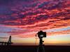 Sunrise Port Leucate (D@rkne§§260) Tags: sunrise levédesoleil sky ciel nuage cloud redsky rouge ponton